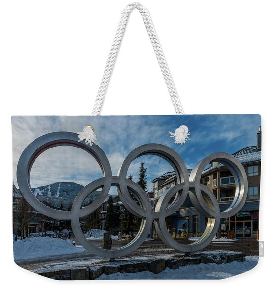 The Rings Weekender Tote Bag