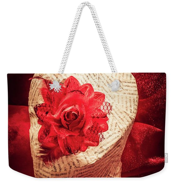 The Rise And Fall Weekender Tote Bag
