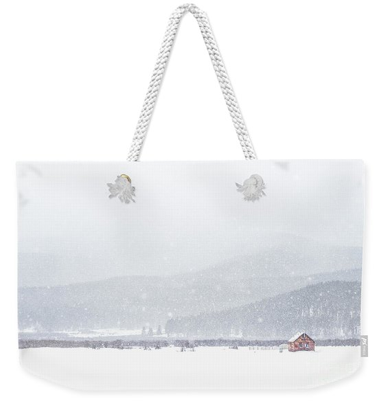 The Rise Of Winter Weekender Tote Bag