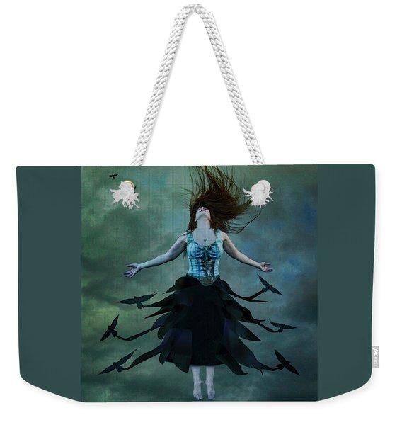 The Rising Weekender Tote Bag