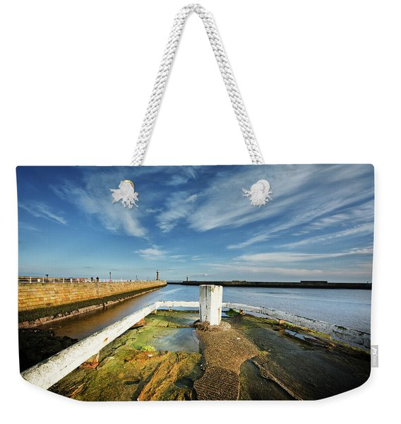 The River Esk Weekender Tote Bag