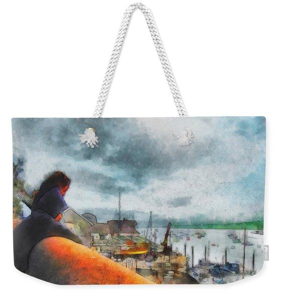 The River Exe Weekender Tote Bag