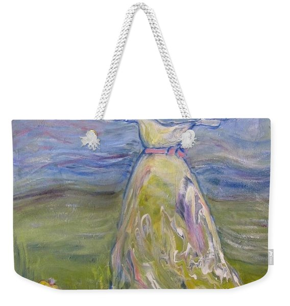 The River Is Here Weekender Tote Bag