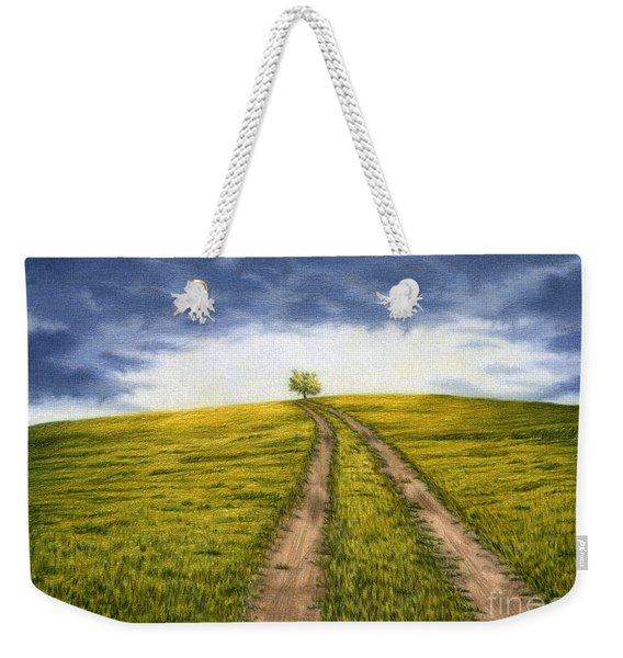The Road Less Traveled Weekender Tote Bag