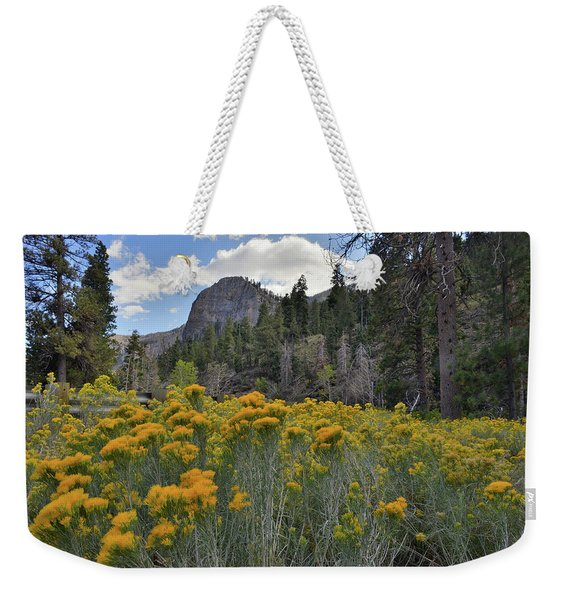 The Road To Mt. Charleston Natural Area Weekender Tote Bag