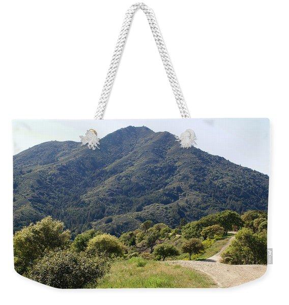 The Road To Tamalpais Weekender Tote Bag
