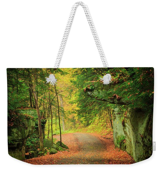 The Road To The Mill  Weekender Tote Bag