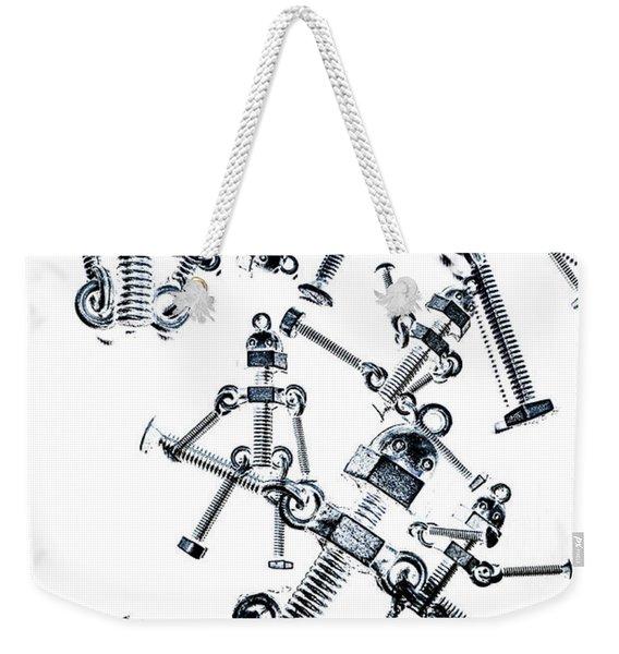 The Robot Dance Weekender Tote Bag