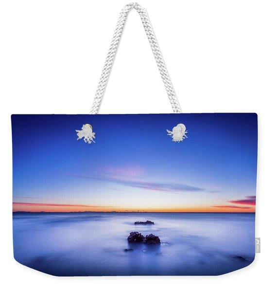 The Rocks Before Sunrise. Weekender Tote Bag