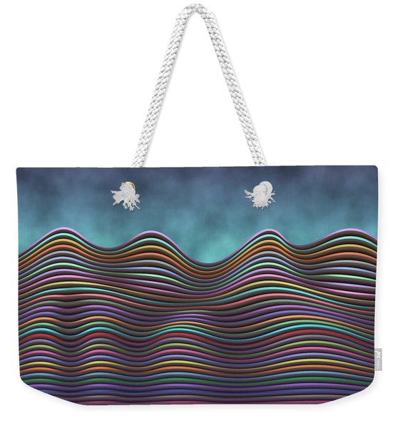 The Rolling Hills Of Subtle Differences Weekender Tote Bag