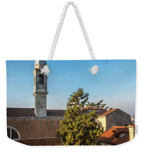 The Roofs Of Venice Weekender Tote Bag