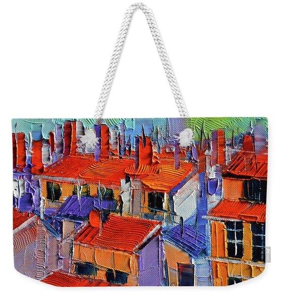 The Rooftops Weekender Tote Bag