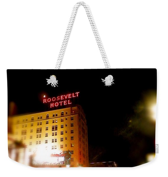 The Roosevelt Hotel By David Pucciarelli  Weekender Tote Bag