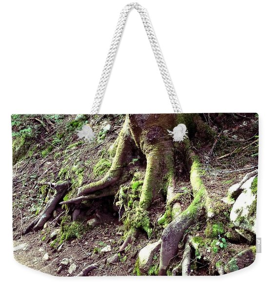 The Root Of The Matter Weekender Tote Bag