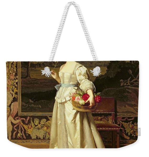 The Rose Basket  Weekender Tote Bag