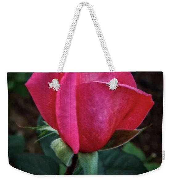 The Rose Bud Weekender Tote Bag