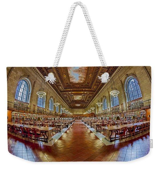 The Rose Main Reading Room Nypl Weekender Tote Bag