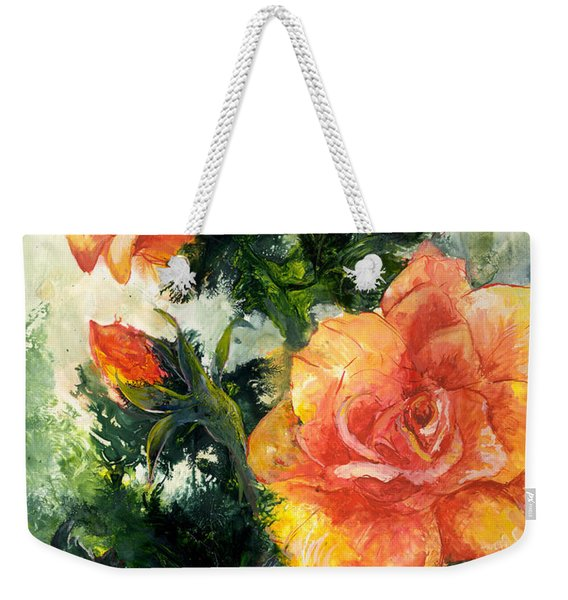 The Roses Weekender Tote Bag