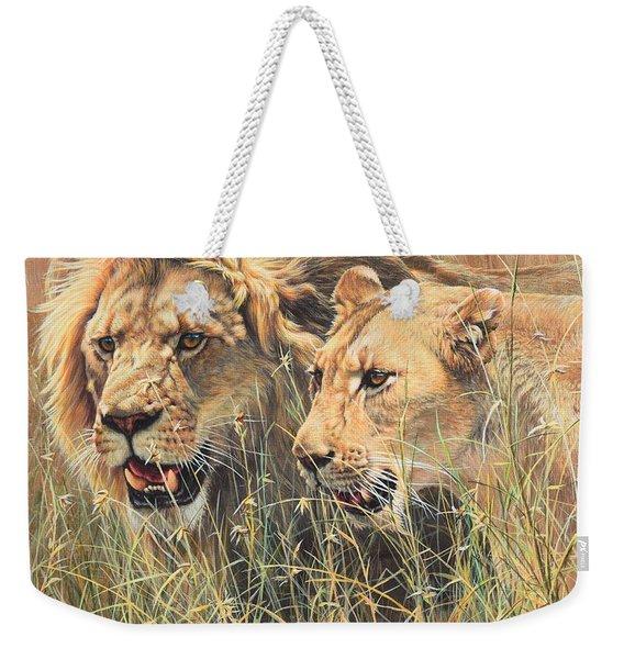 The Royal Couple II Weekender Tote Bag
