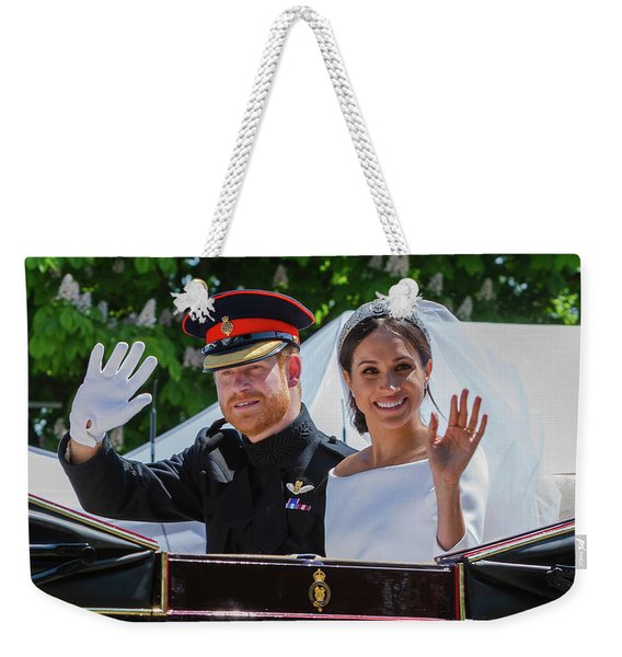 The Royal Wedding Of Prince Harry  To Meghan  Weekender Tote Bag