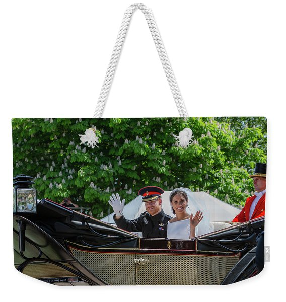 The Royal Wedding Harry Meghan Weekender Tote Bag