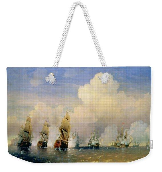 The Russo Swedish Sea War Near Kronstadt In 1790  Weekender Tote Bag