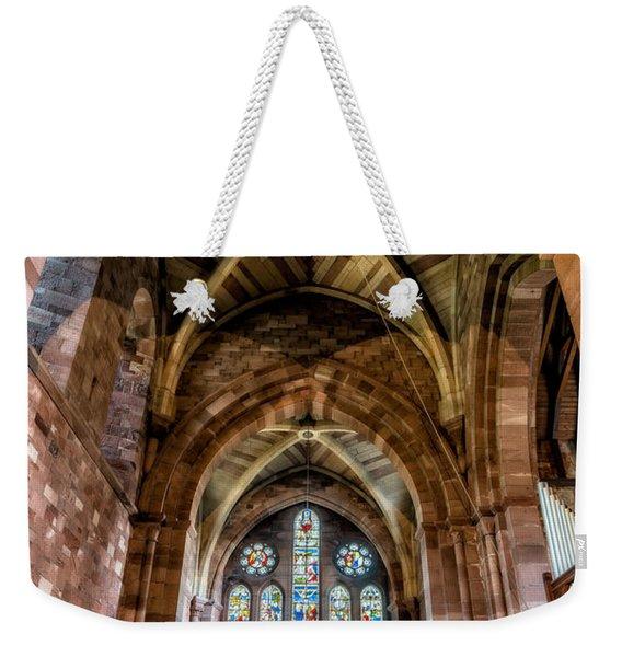 The Sacred Place Weekender Tote Bag