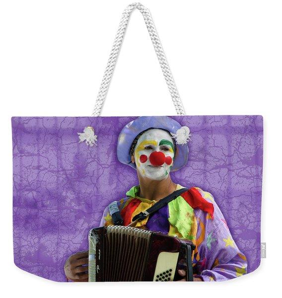 The Sad Clown Weekender Tote Bag