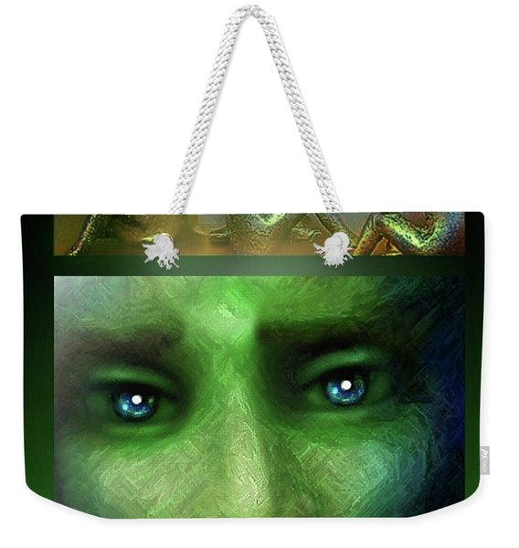 The Sadness Of Gaia Weekender Tote Bag