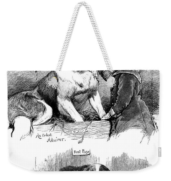 The Saint Bernard Club Dog Show Weekender Tote Bag