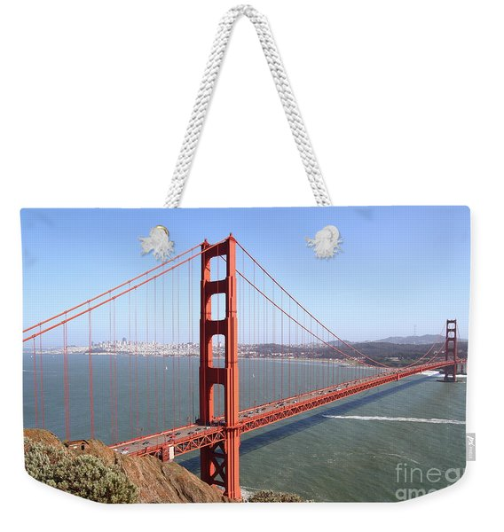 The San Francisco Golden Gate Bridge 7d14507 Weekender Tote Bag