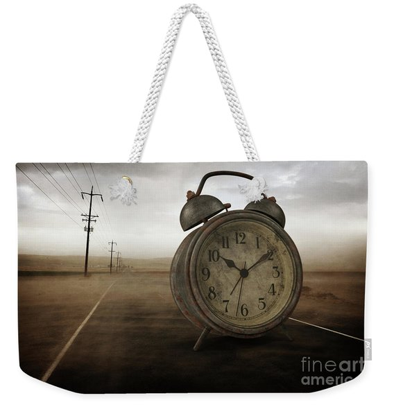 The Sands Of Time Surreal Weekender Tote Bag
