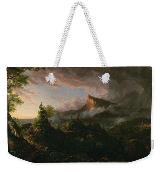 The Savage State Weekender Tote Bag