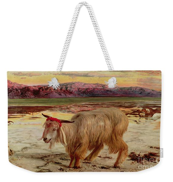 The Scapegoat Weekender Tote Bag