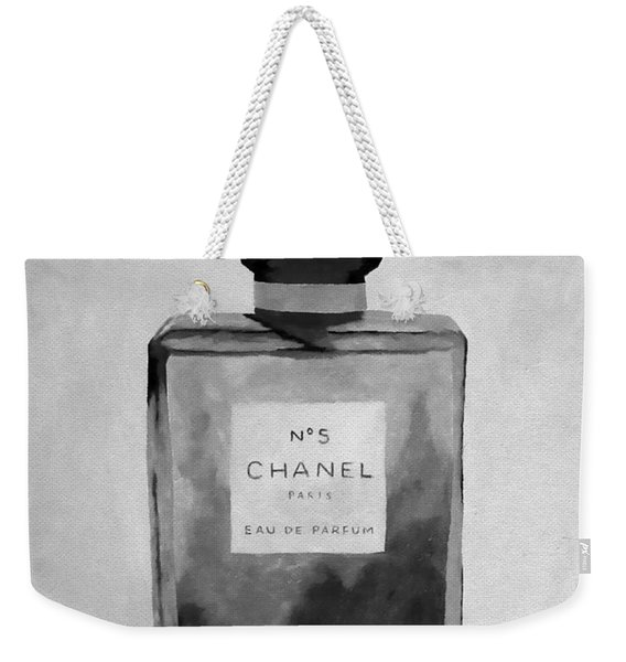 The Scent Black And White Weekender Tote Bag