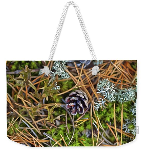 The Scent Of Pine Forest Weekender Tote Bag