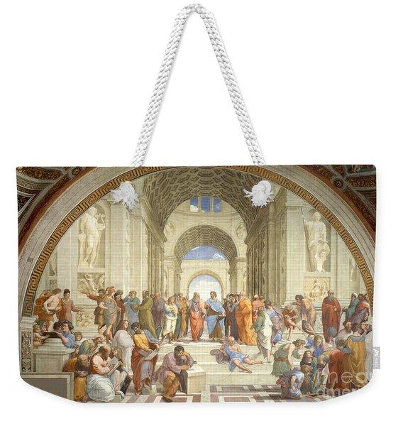 The School Of Athens, Raphael Weekender Tote Bag