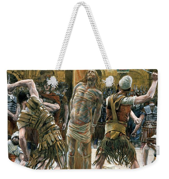 The Scourging Weekender Tote Bag