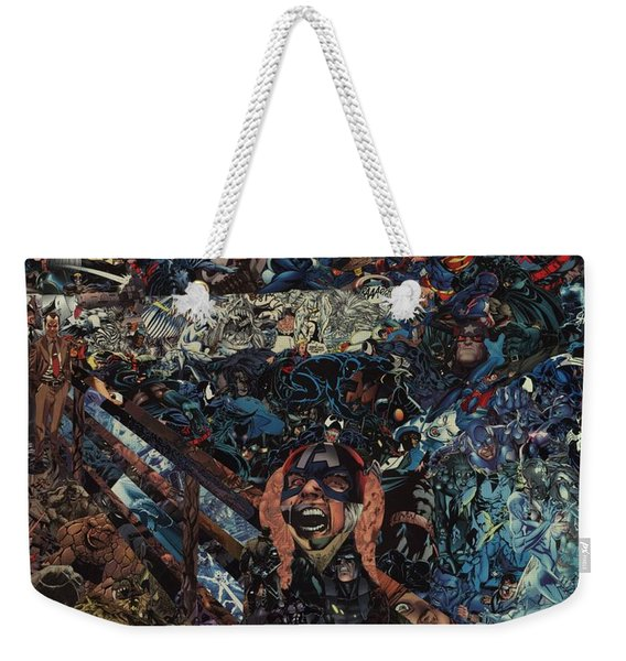The Scream After Edvard Munch Weekender Tote Bag