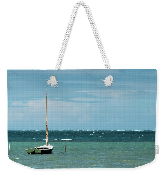 Weekender Tote Bag featuring the photograph The Sea Calls My Name by Break The Silhouette