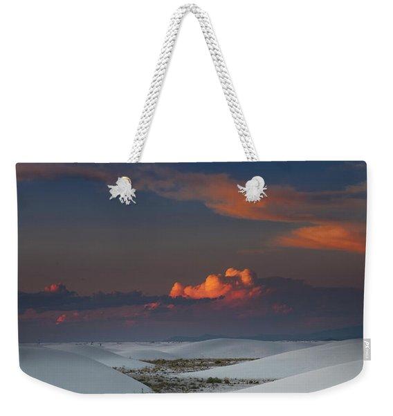 The Sea Of Sands Weekender Tote Bag