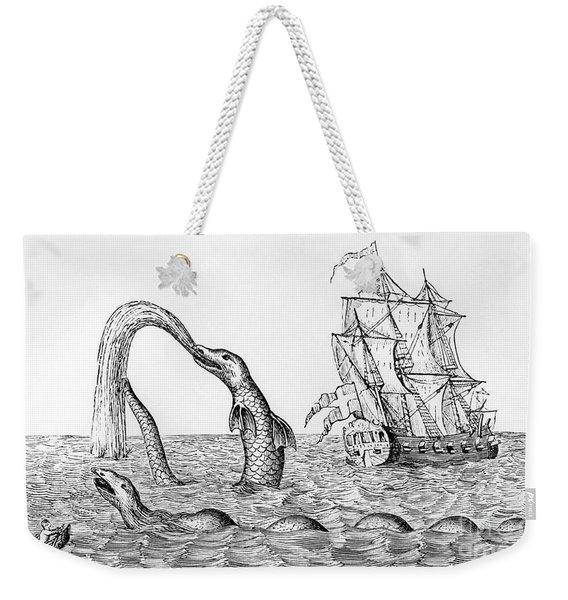 The Sea Serpent Weekender Tote Bag