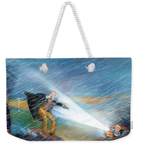 The Search Weekender Tote Bag