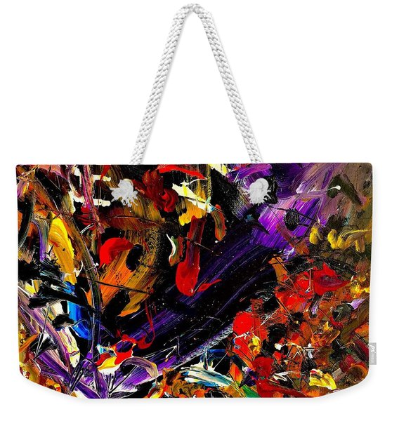 The Search Stops Here Weekender Tote Bag