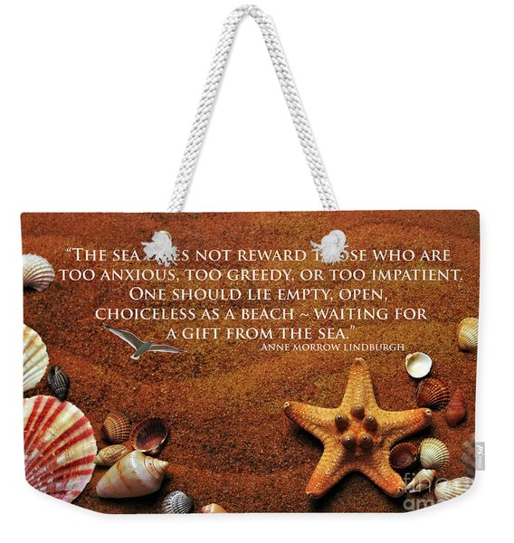 The Sea's Reward 2016 Weekender Tote Bag