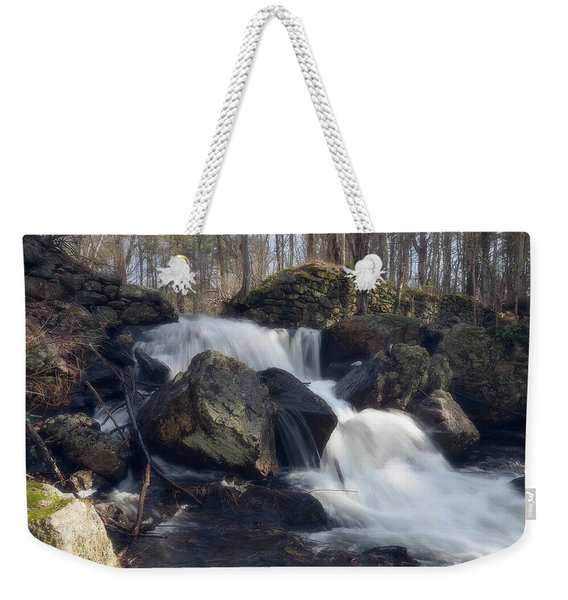 The Secret Waterfall 1 Weekender Tote Bag