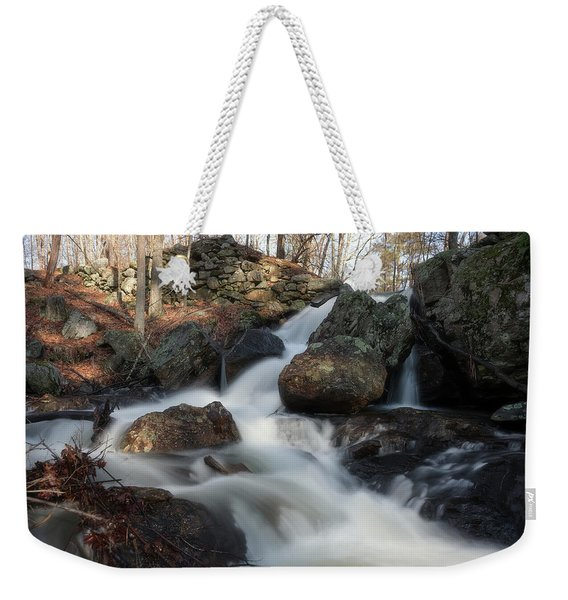 The Secret Waterfall 2 Weekender Tote Bag