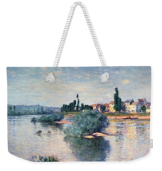 The Seine At Lavacourt Weekender Tote Bag