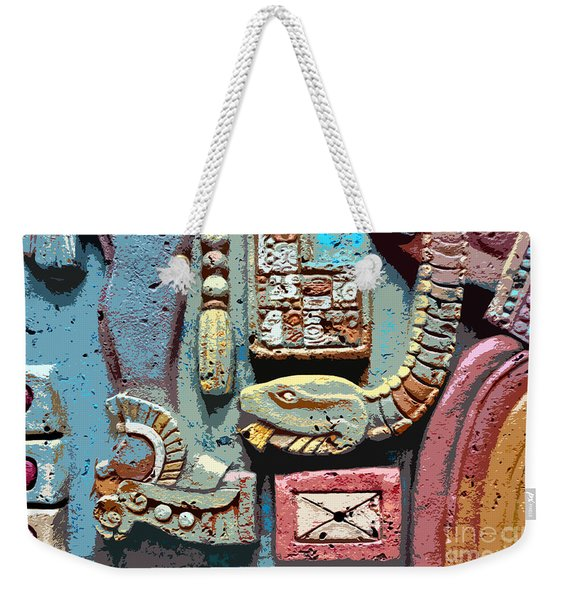 The Serpent's Message Weekender Tote Bag
