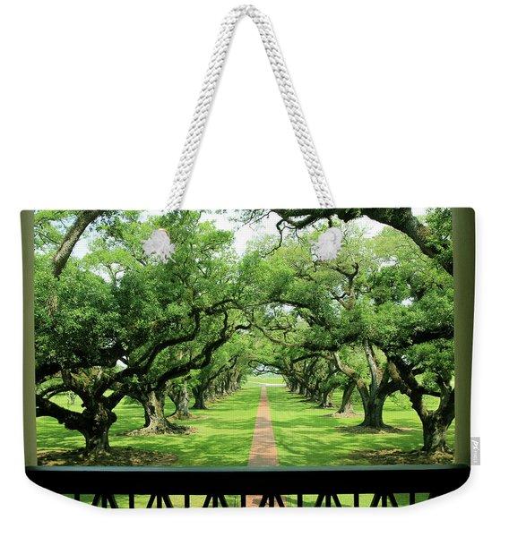 The Shade Of The Oak Tree Weekender Tote Bag